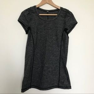 Lululemon top with ruffled details